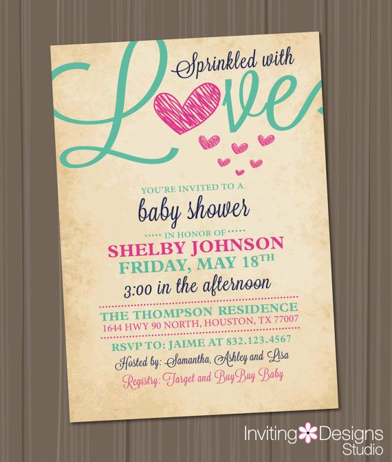 fall in love bridal shower invitation love leaves heart autumn orange red brown rustic printable file custom instant download