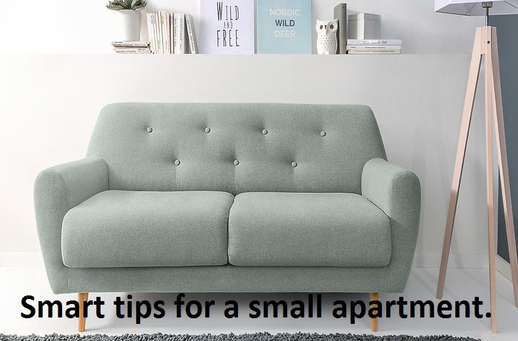 Check out our tips for a small apartment!