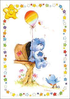 Grumpy Care Bear aka 'cloudy bear'