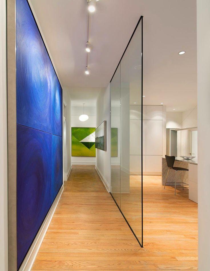 HappyModern.RU | Стеклянные перегородки в квартире (50 фото): как создать прозрачную стену | http://happymodern.ru