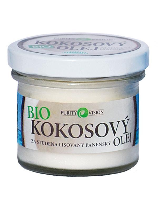 BIO Kokosový olej PURITY VISION 100ml   Bylinkuj.cz