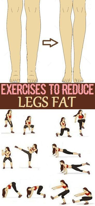 Simple Exercises to Reduce Legs Fat..