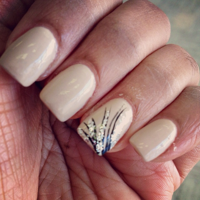 35 best pale nails 2 images on pinterest nail design nail nude opi nail color with a design prinsesfo Choice Image