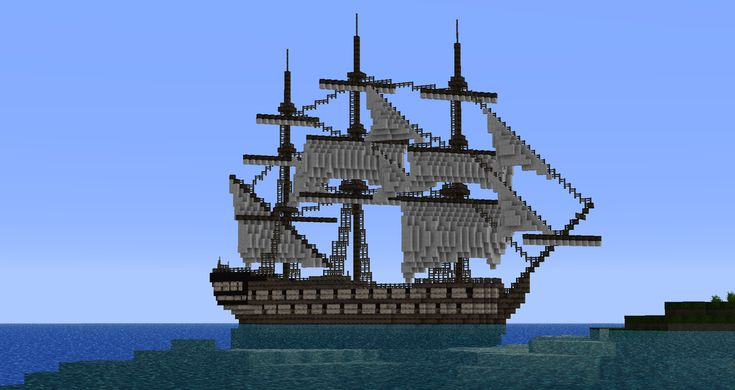 how to build an easy ship in minecraft