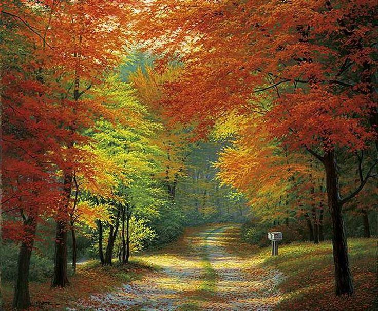 Осень в живописи. Обсуждение на LiveInternet - Российский Сервис Онлайн-Дневников
