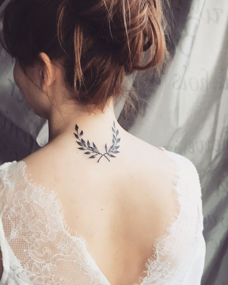 2nd tattoo • Laurels branches / crown