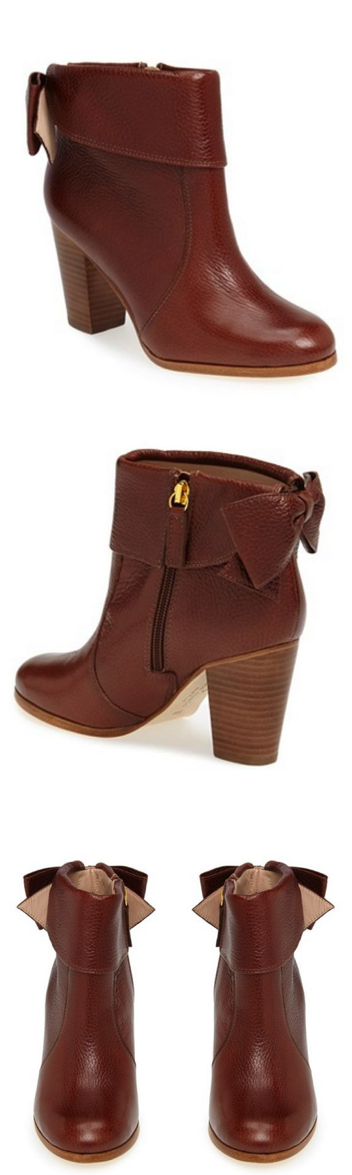 Cutest. booties. ever. #katespade http://rstyle.me/n/ss9ain2bn
