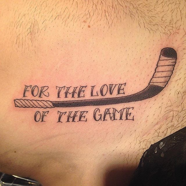 A Walk In Trying Different Styles With The Pen To Get To Know It Better Its A Different Sport But Really F Hockey Tattoo Canadian Tattoo Custom Tattoo Design