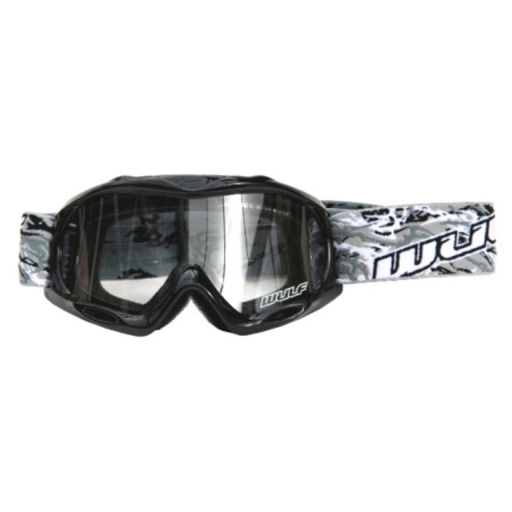 The Wulf Cub Abstract Junior Motocross Goggles are one of our more affordable sets of kids goggles. All the eye protection a little MXer could need but still costs under £20.