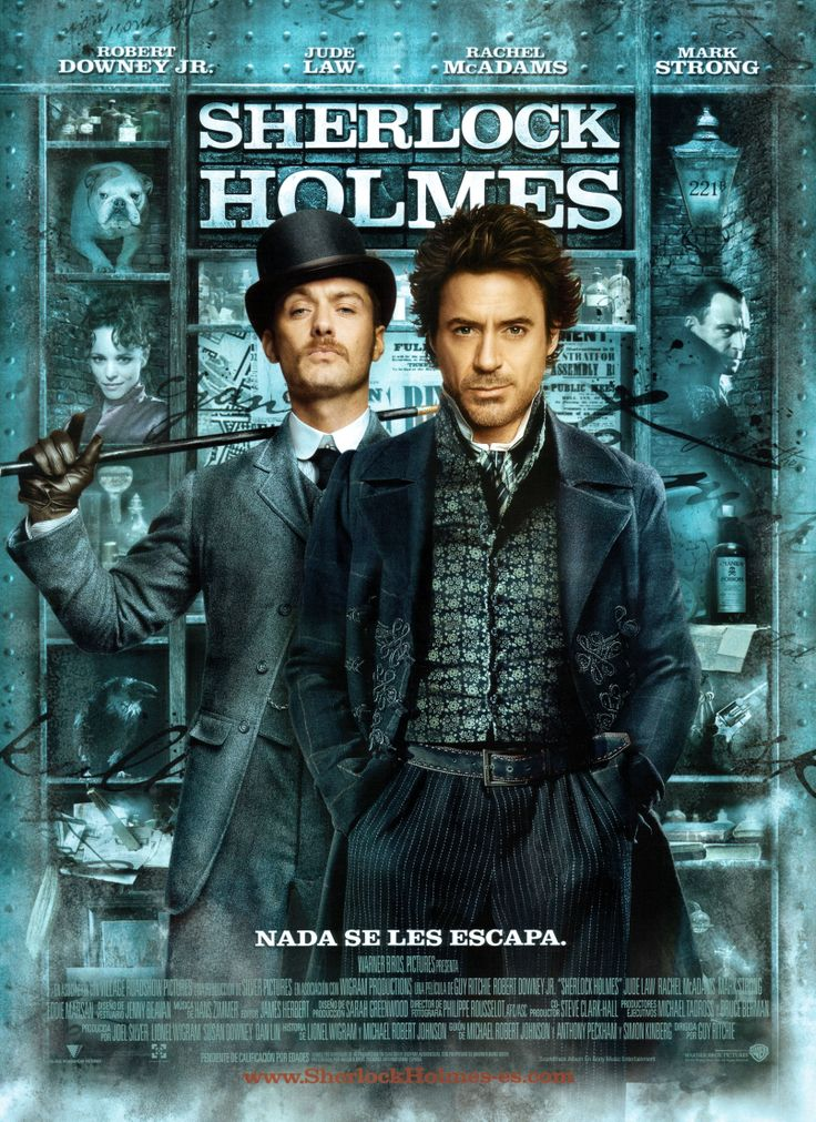 Sherlock Holmes [Material gráfico] / Director, Guy Ritchie.-- USA : [s.n.], 2009. 1CAR/18