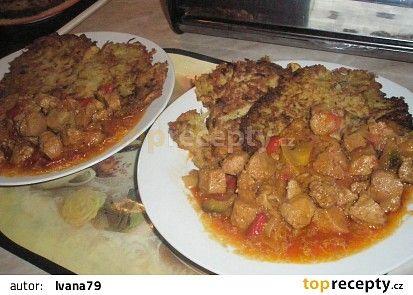 Sójové maso a la Katův šleh recept - TopRecepty.cz