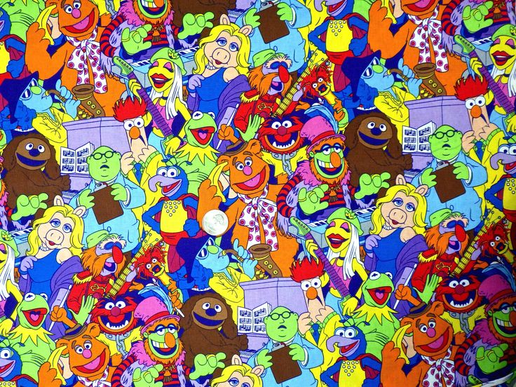 Hundreds of cute and novelty fabrics at Kims Fabric Outlet on Etsy!