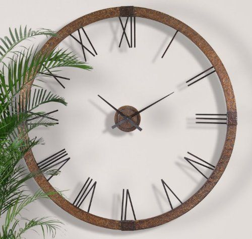 Image result for large copper wall clock uk