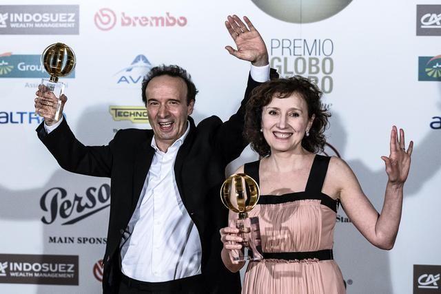 Benigni, Globo d'Oro premio a nostri film liberi - Primopiano - Ansa.it