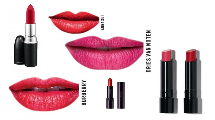 Matte Lippen in Rot | annabelle