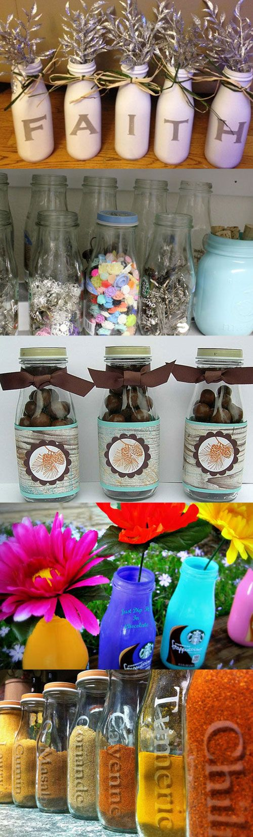 Ideas for reusing frappuccino bottles - Mommy Scene