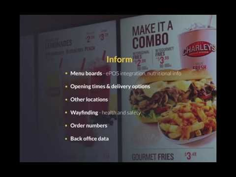 How Restaurants can use Digital Signage to attract more Customers