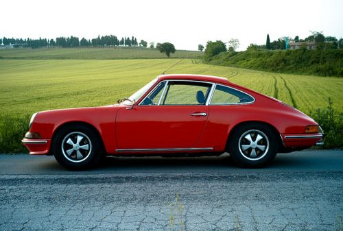 Porsche 911, my ride in the early 70's.