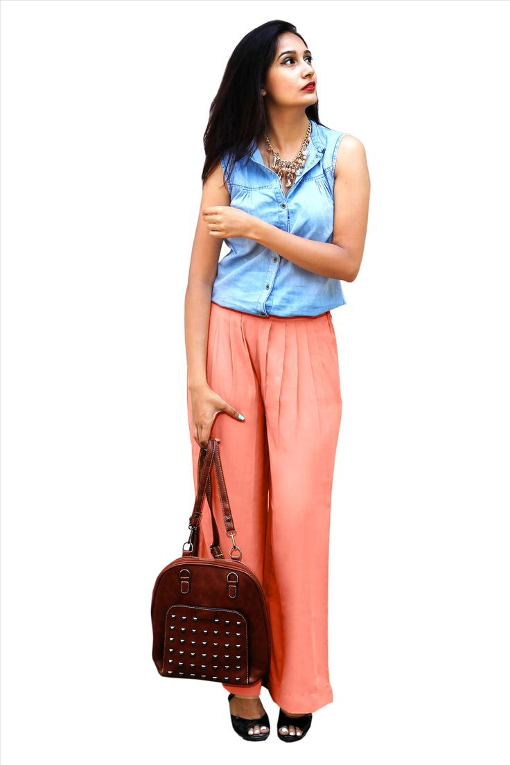 Fashionable Palazzo only on SareeExotica .