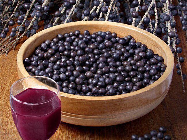 Açaí, uma fruta exótica, pois é típica de uma região do Brasil e muito nobre…