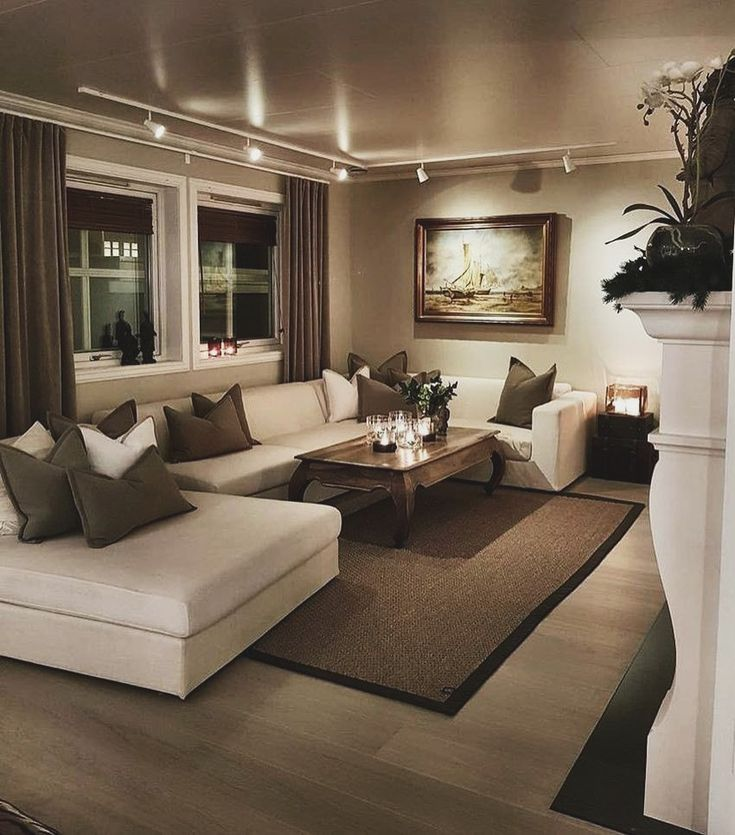 убрать дизайн гостиных комнат фото весенний
