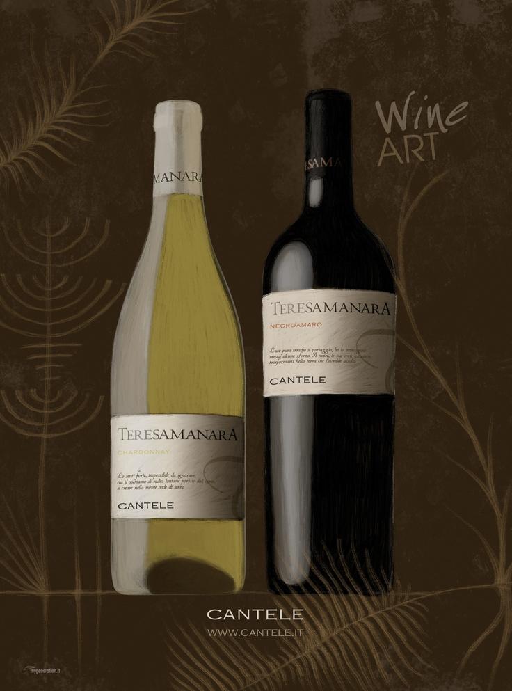 Teresa Manara Chardonnay e Negroamaro