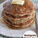 Multigrain Gluten-Free Pancakes - a great nourishing breakfast option!