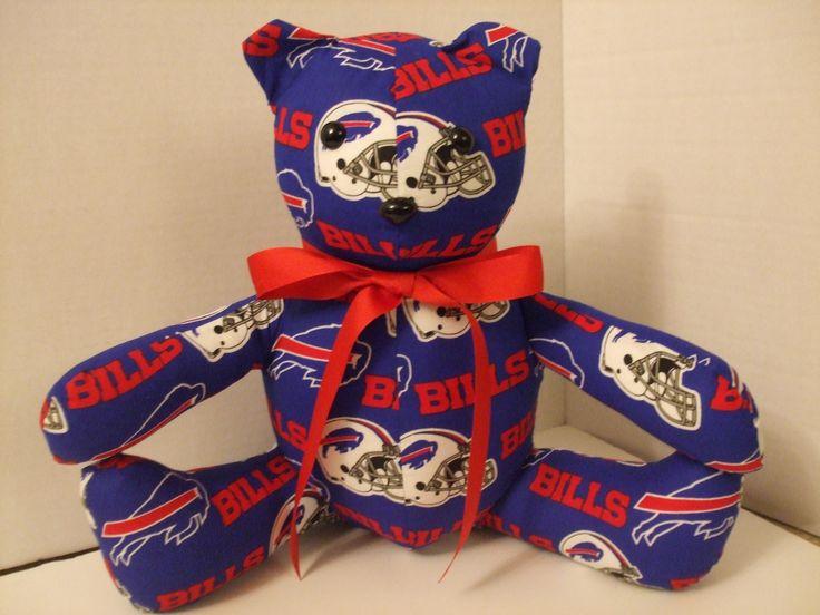 Buffalo Bills football team Stuffed Teaddy Bear
