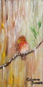 """""""Cheeky Robin"""" by Kalpana Soanes"""