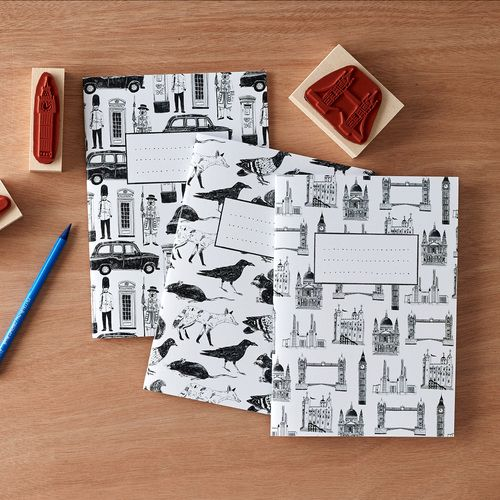 London notebook set