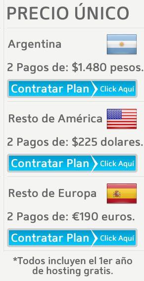 El Plan Diario Revista Autoadministrable es ideal para cualquier portal de noticias al estilo diario o revista. Se muestra un diseño profesional