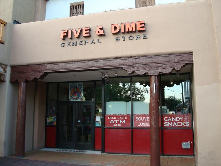 The Five & Dime Santa Fe Plaza, Santa Fe, NM July 2011