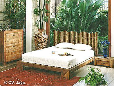 Bambusová ložnice ESSENTIAL 3 - romantická