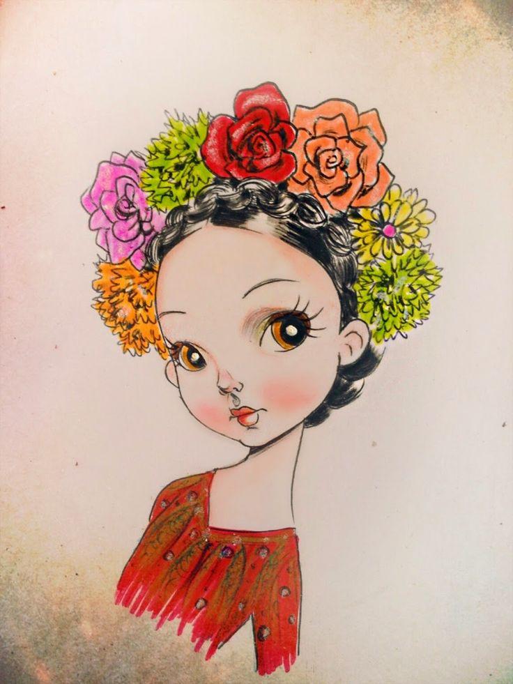 frida kahlo dibujo tumblr - Buscar con Google | Frida ...
