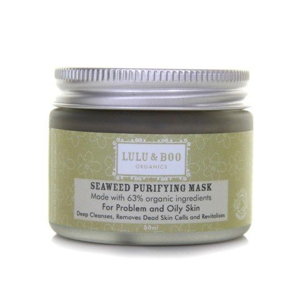 Best Seller ! Le masque exfoliant et purifiant aux algues de #LuluandBoo est un soin bio qui vous donnera une sensation de propreté et de bien-être immédiats. #masquebio