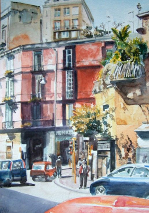 Streets of Naples by Helen Smart