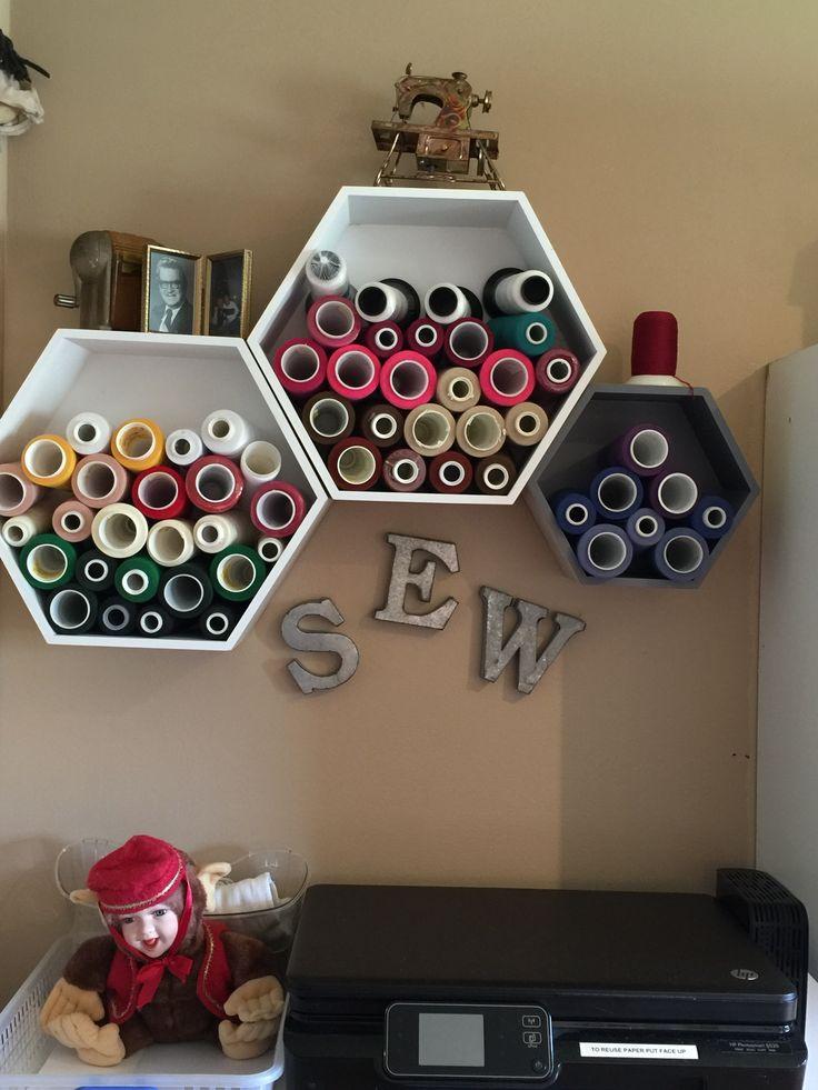 Vinyl Craft Storage Ideas