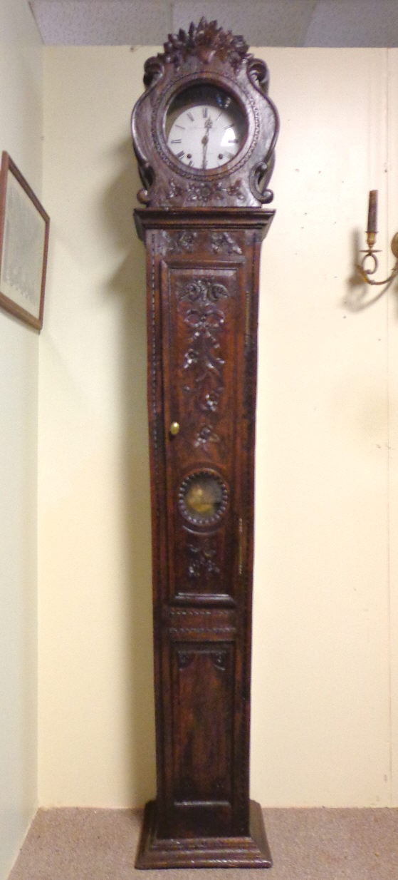 18th Century French Antique Provencal Grandfather Clock