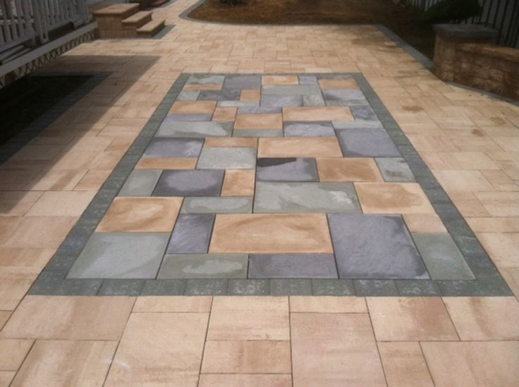 19 best block paving images on pinterest driveways for Pouring your own concrete driveway