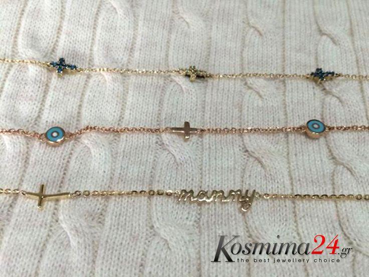 Yπέροχα βραχιόλια από το kosmima24.gr!!   #gold #rosegold #newarrivals #happynovember #kosmima24 #bracelets #evileye #mommy Δείτε τα βραχιόλια της φωτογραφίας εδώ: https://goo.gl/vrTDnX https://goo.gl/IuFbRb https://goo.gl/P8jCGG Ανακαλύψτε όλη τη συλλογή σε βραχιόλια εδώ: https://goo.gl/IcJ3NU