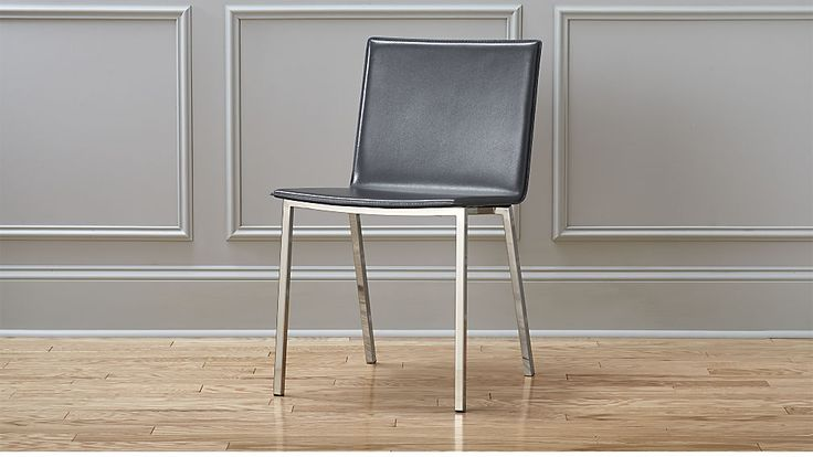 phoenix carbon grey chair | CB2