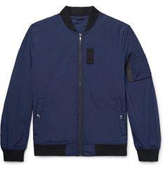Club Monaco - MA1 Stretch-Nylon Ripstop Bomber Jacket