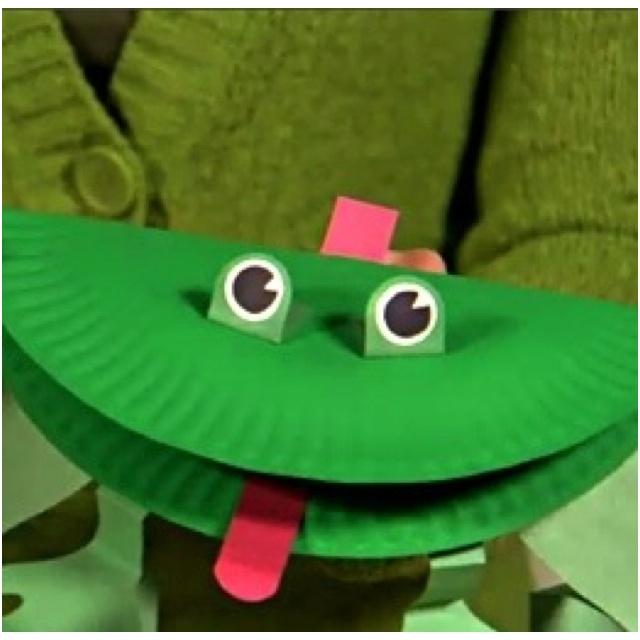 Frog Crafts Preschool Pinterest