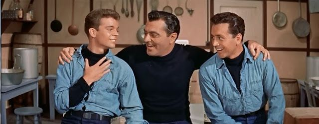 Hit the Deck (1955) - It's a buddy film of sailors on leave. Their friendship will be tested. Russ Tamblyn, Tony Martin, Vic Damone.