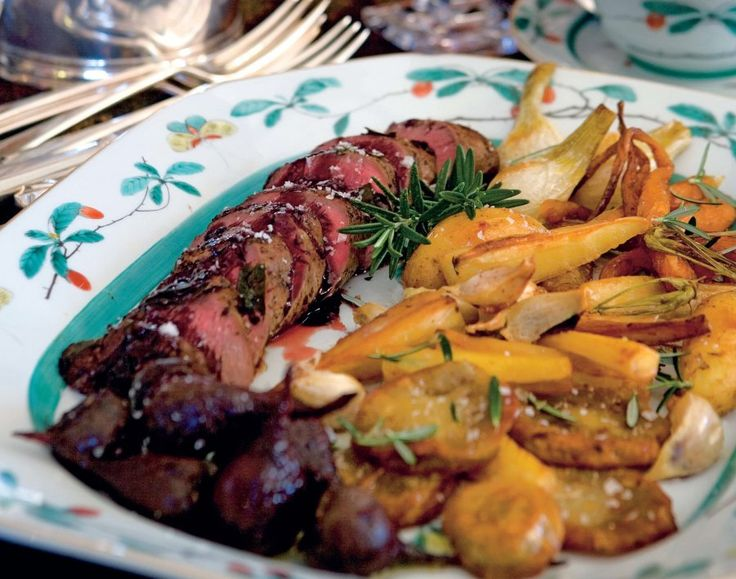 A roast tenderloin of venison is an impressive way to keep things lean and healthy at dinner.