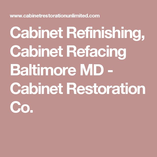 25+ Best Ideas About Refinish Cabinets On Pinterest