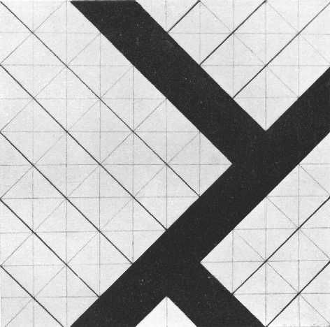 Theo van Doesburg: Contre-compositie (1924).