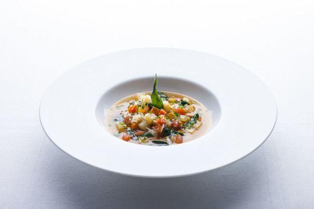 Can't Miss Meals in LA: Hotel Bel-Air's garden vegetable soup