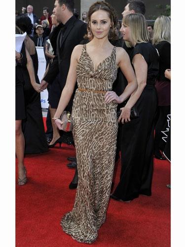 Hannah Tointon - Valentino dress