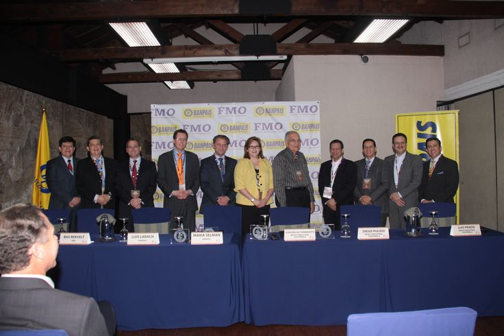 Signing ceremony of a large syndicated loan in Honduras